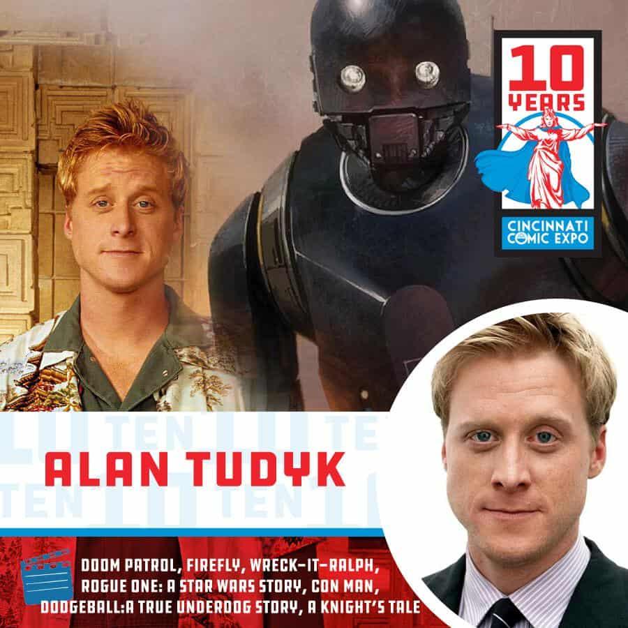 Free Comic Book Day Germany: Cincinnati Comic Expo 2019 Welcomes Alan Tudyk