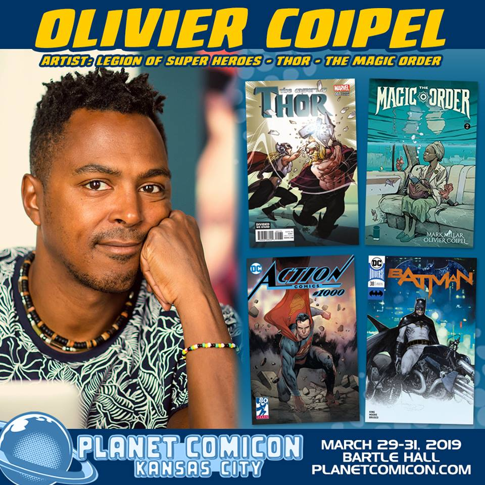 Free Comic Book Day Kansas City: Artist Olivier Coipel Appears At Planet Comicon 2019