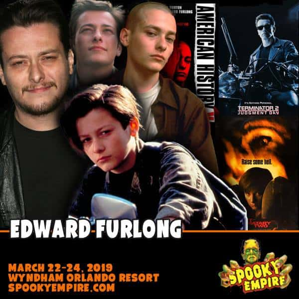 Free Comic Book Day New York City: Meet Edward Furlong All Weekend Long At Spooky Empire Next