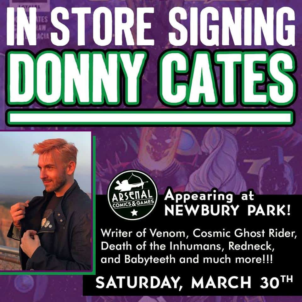 Free Comic Book Day Germany: CA - Donny Cates Signing