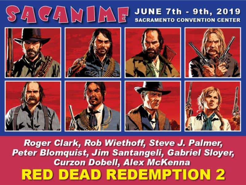 Red Dead Redemption Reunion at SacAnime 2019 | Convention Scene