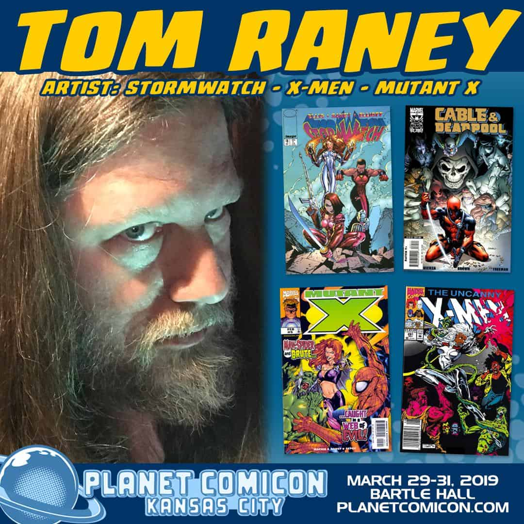 Tom Raney heads to Planet Comicon 2019 with Hero Initiative