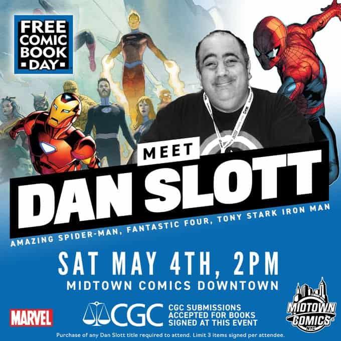 NYC – FCBD 2019: Dan Slott Signing | Convention Scene
