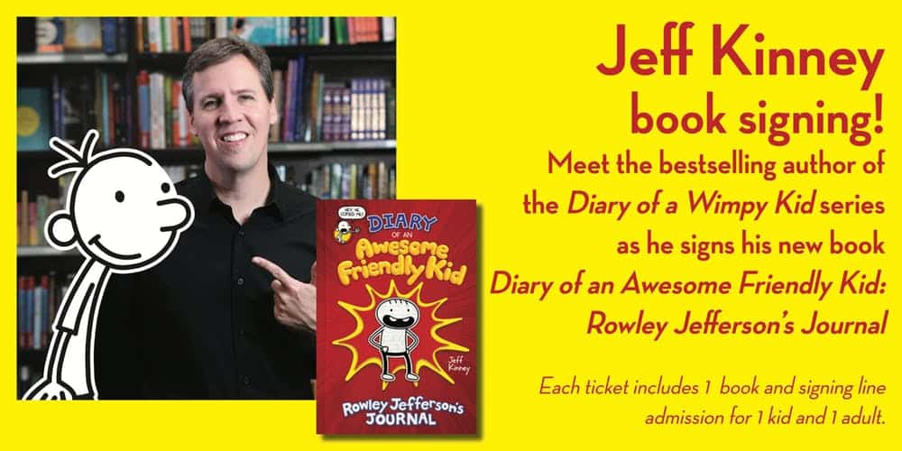 NYC – Diary of an Awesome Friendly Kid Signing | Convention