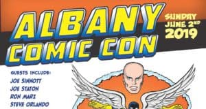 Albany Comic Con Sunday, June 2nd, 2019
