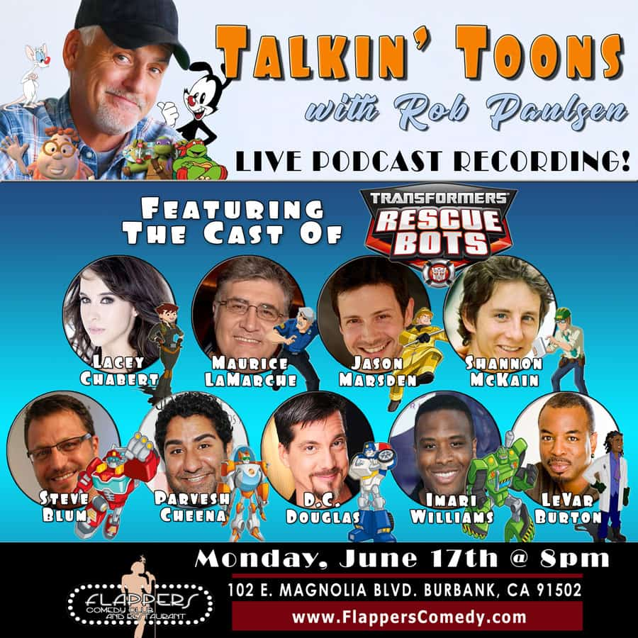 Free Comic Book Day Germany: Talkin' Toons W/ Transformers: Rescue Bots