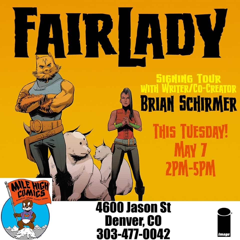 Free Comic Book Day Germany: CO - Fairlady #1 Signing