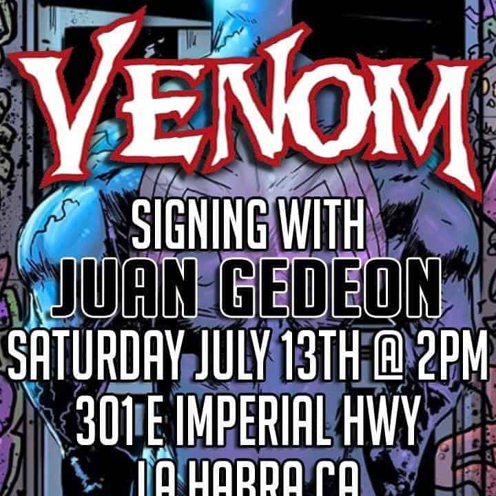 Free Comic Book Day Germany: CA - Venom #16 Signing