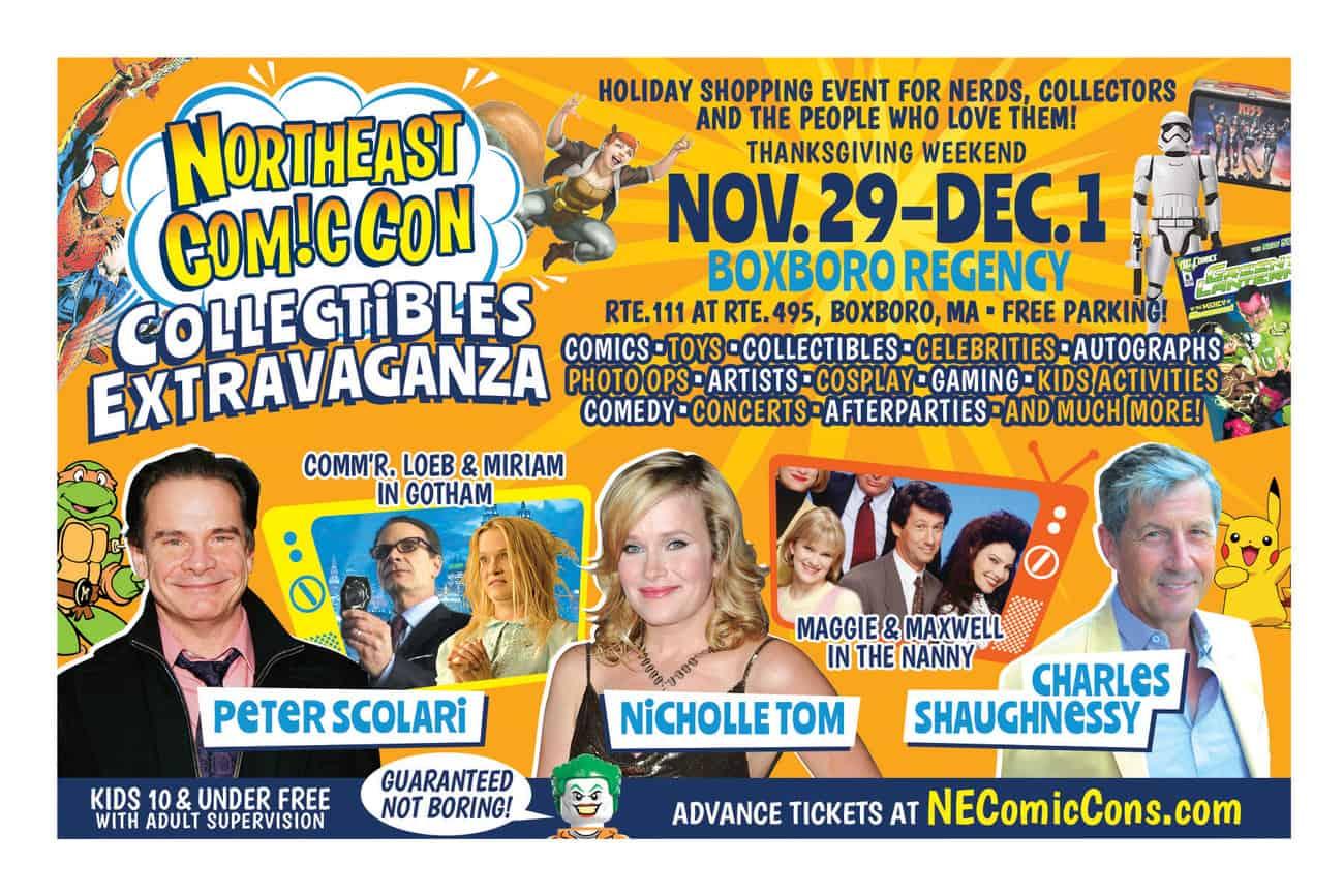 NorthEast ComicCon Collectibles Extravaganza