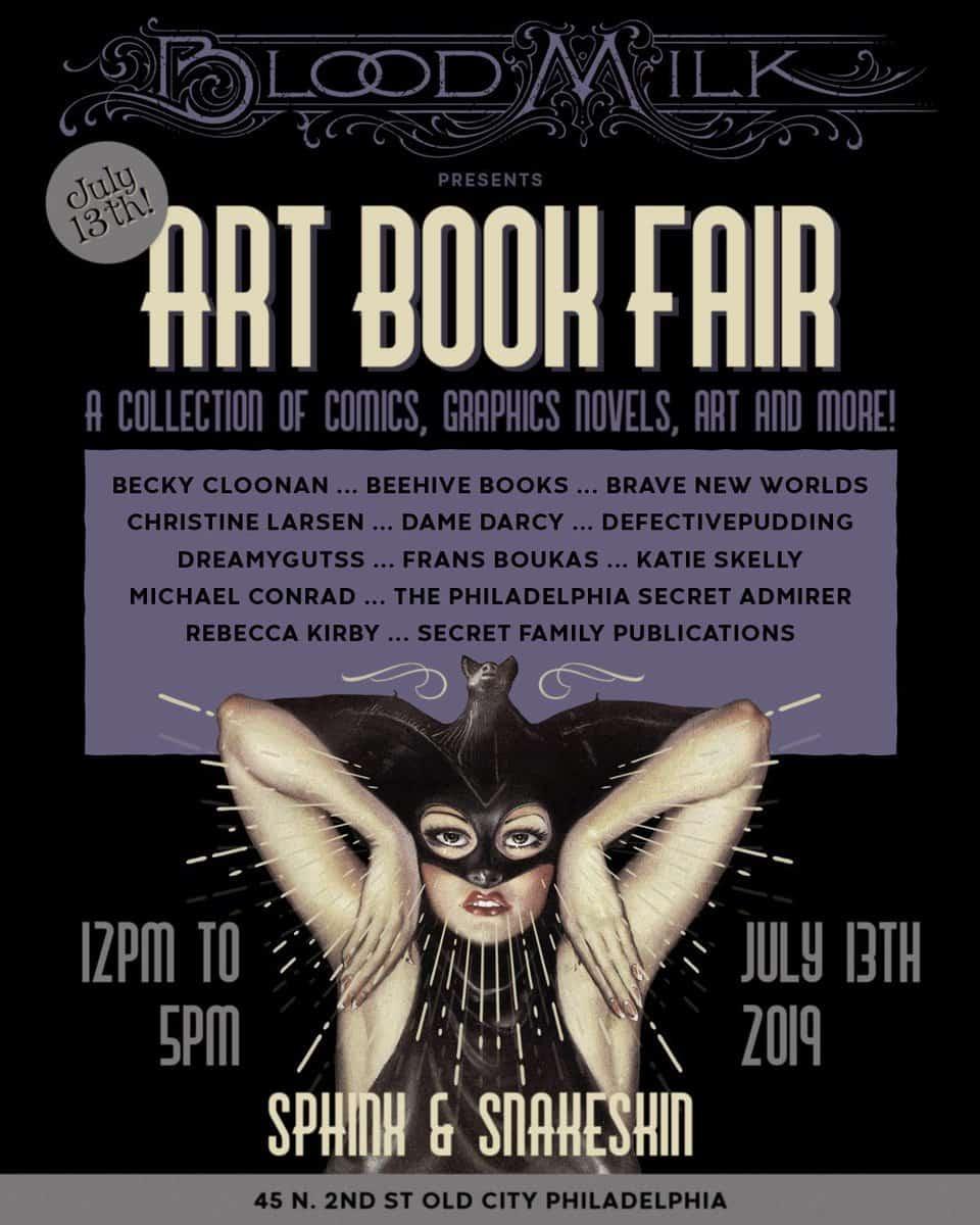 Free Comic Book Day Germany: PA - Blood Milk's Art Book Fair