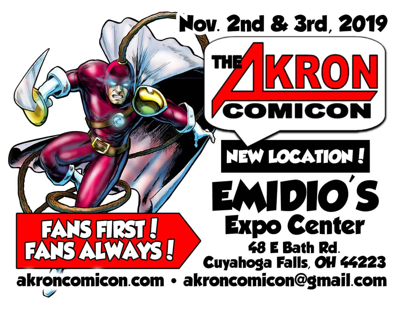 Akron Comicon 2019!