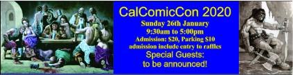 California Comic Convention 2020 ( CalComicCon )