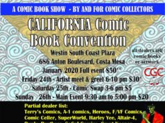 Flyer CalComicCon 2020