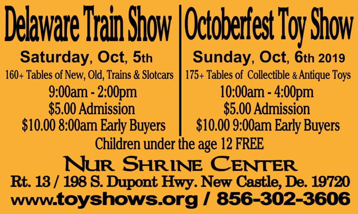 Delaware Train Show