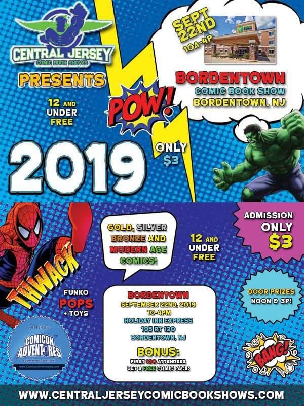 Bordentown Comic Book Show (September 2019) | Convention Scene