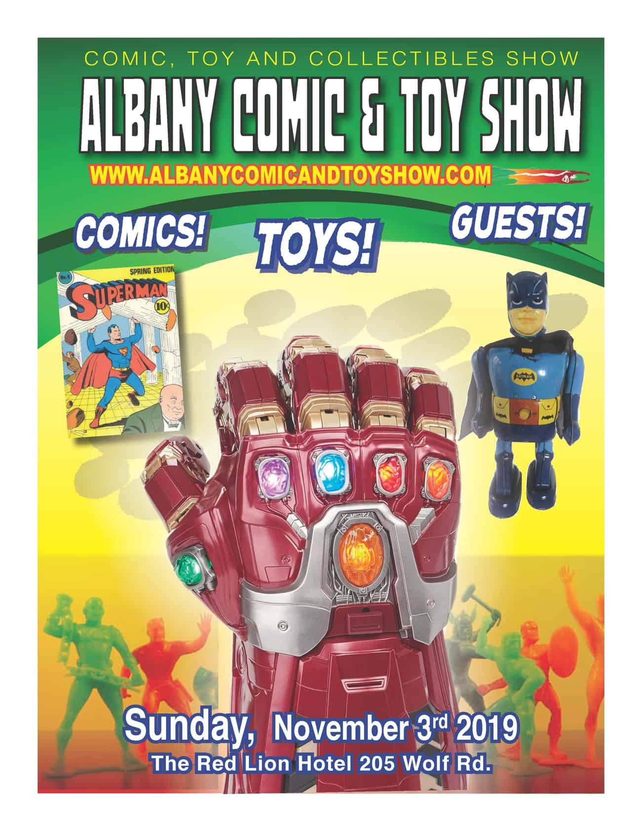 Albany Comic & Toy Show