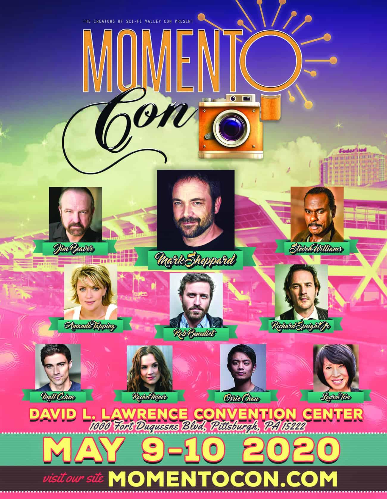 Momento Con flyer