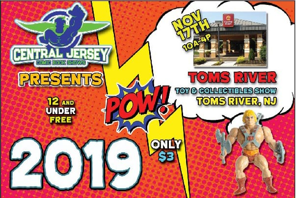 Toms River Toy & Collectible Show Flyer