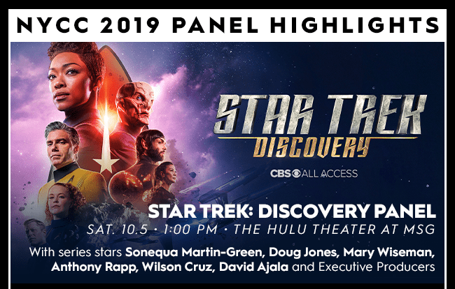Star Trek: Discovery Beams Down to NYCC 2019 | Convention Scene