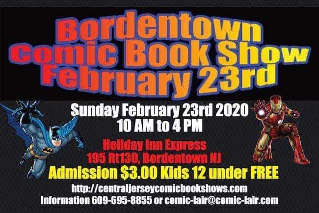 Borden Town Comic book Show