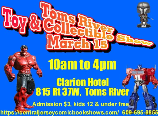 Toms River Toy and Collectible Show