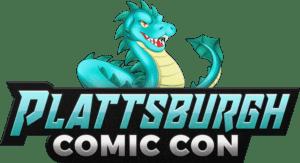 Plattsburgh Comic Con logo