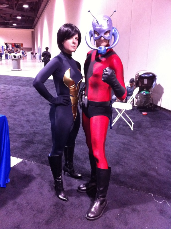 Long Beach Comic Con Antman and the Wasp