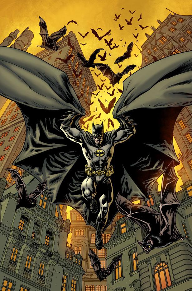 Batman Inc. cover by Yanick Paquette