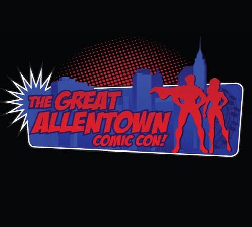 Great Allentown Comic Con logo