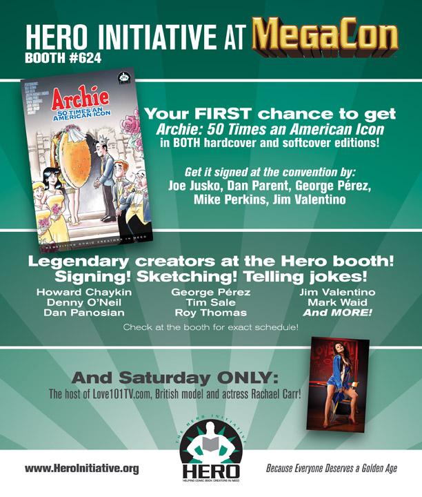 Hero Initiative MegaCon 2011