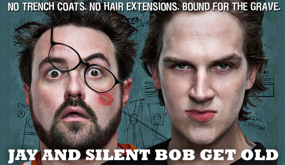 Kevin Smith and Jason Mewes - Jay and Silent Bob Get Old