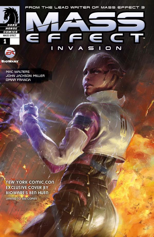 Mass Effect NYCC 2011