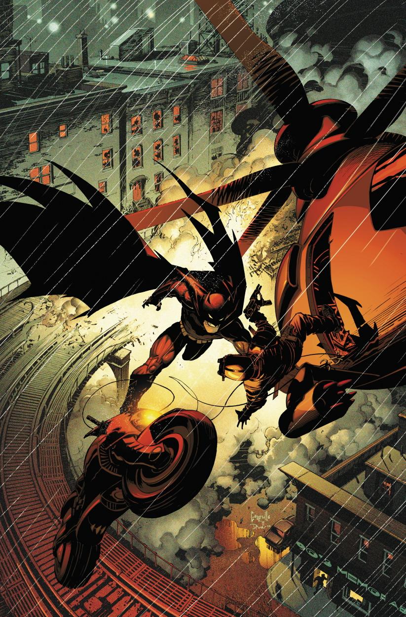 Batman 2 Cover by Greg Capullo