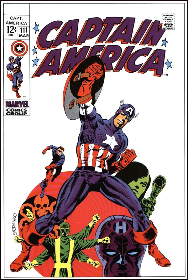 Captain America Jim Steranko