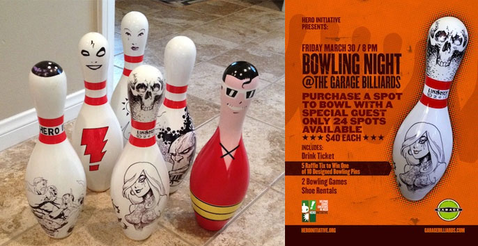 Hero Initiative Bowling