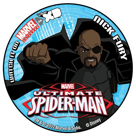 Ultimate Spider-Man Button