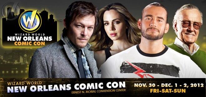New Orleans Comic Con 2012
