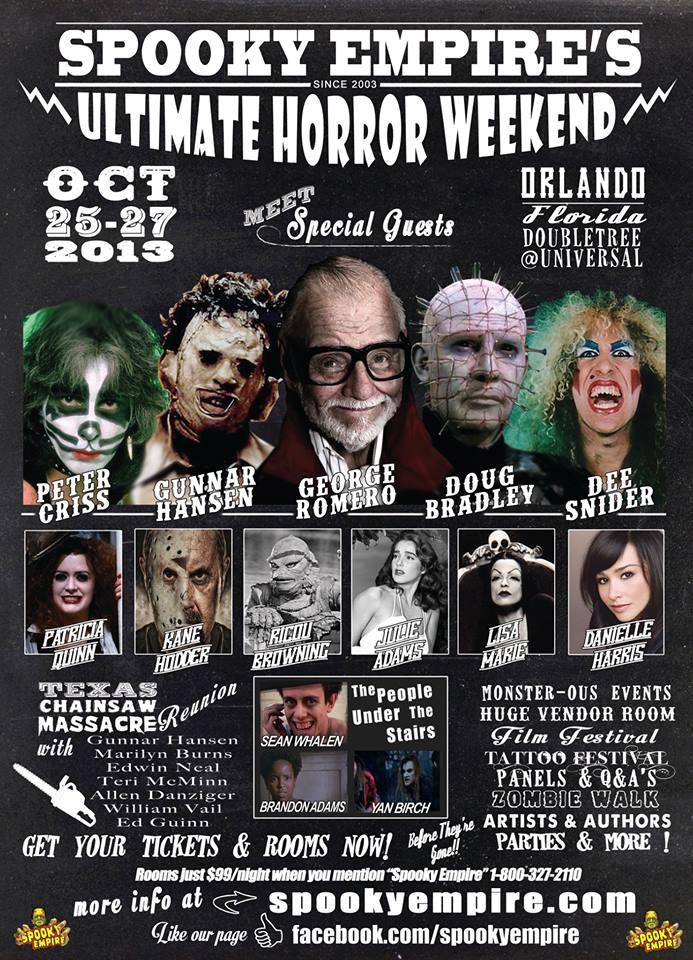 Spooky Empire's Ultimate Horror Weekend