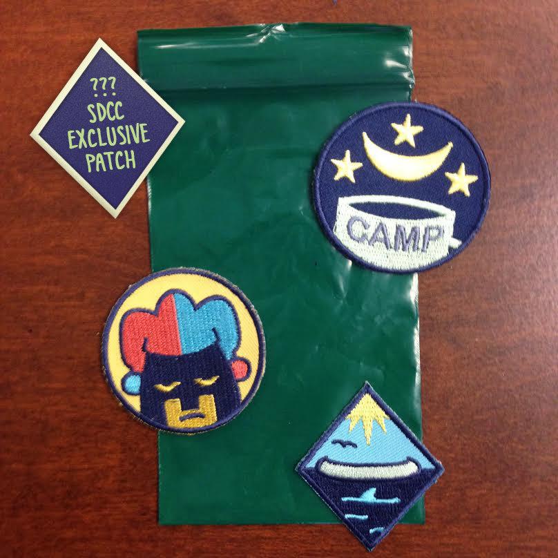 Lumberjanes SDCC Badges