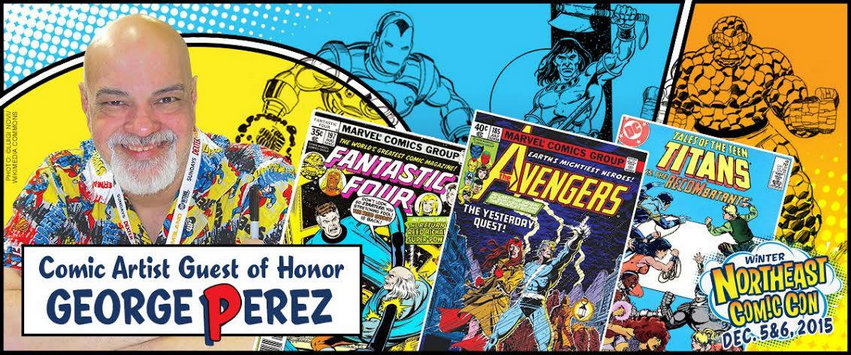 Northeast Comic Con George Perez