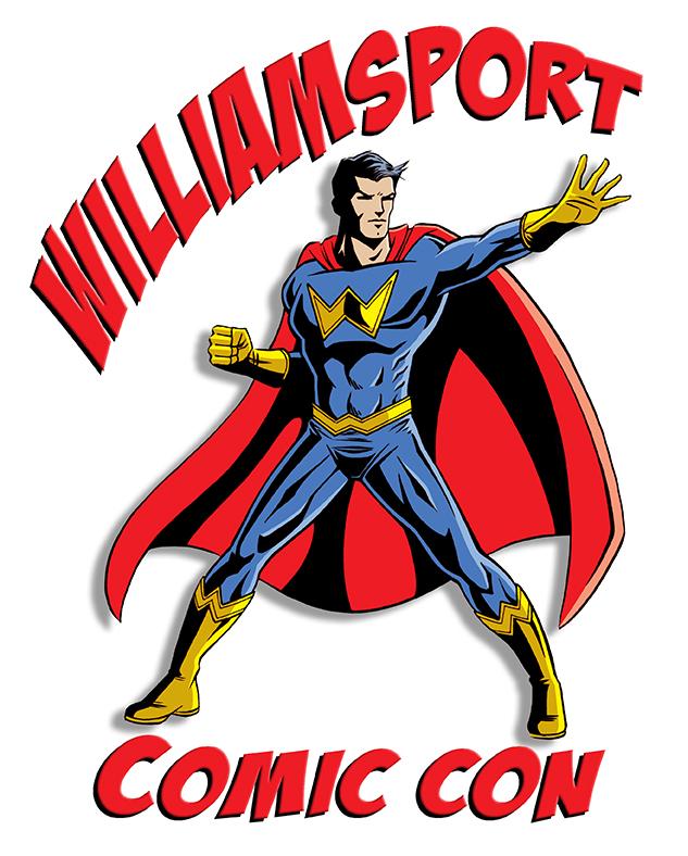 Williamsport Comic Con Logo