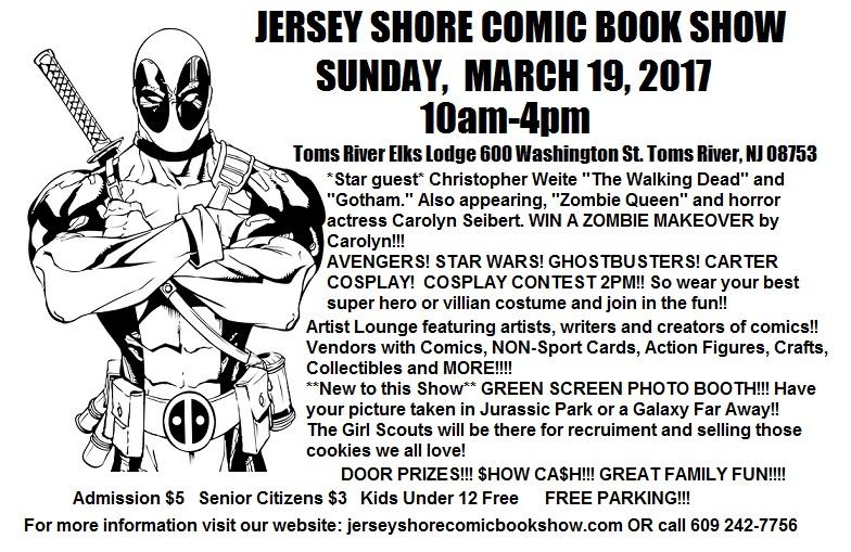 Jersey Shore Comic Book Show