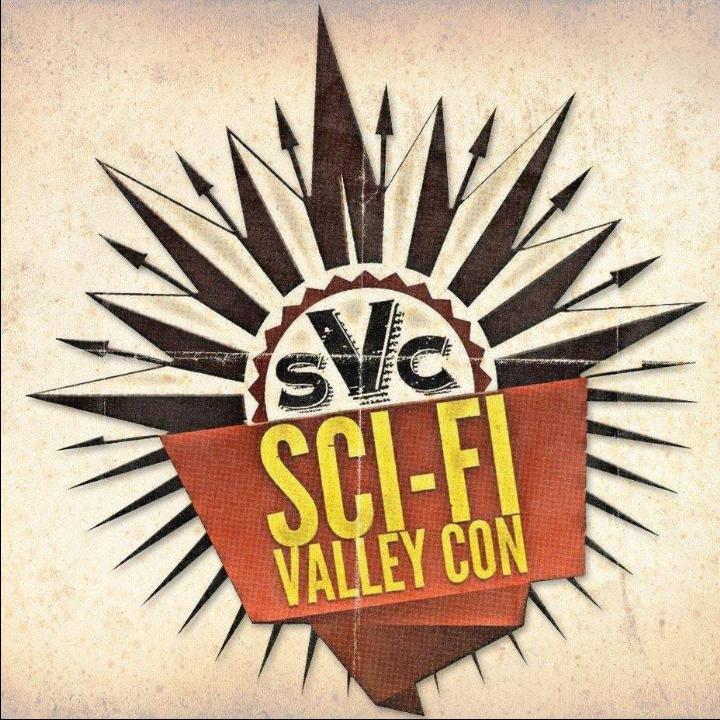 Sci-Fi Valley Con logo