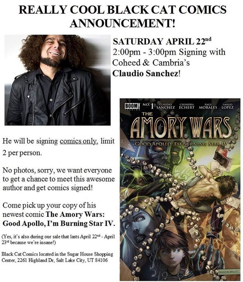 Coheed and Cambria - Convention Scene