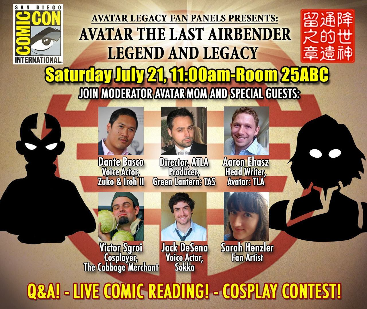 Avatar Legacy Panel at SDCC 2018   Convention Scene