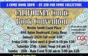 Flyer CalComicCon 2020