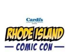 Rhode Island Comic Con, presented by Cardi's Furniture and Mattreses